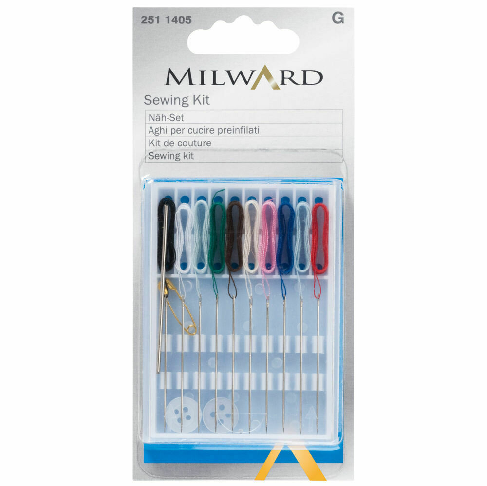 Sewing Kit (includ. threaded needles)