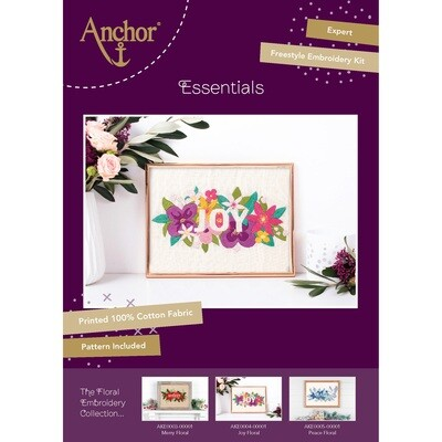 The Floral Embroidery Collection - Joy Floral