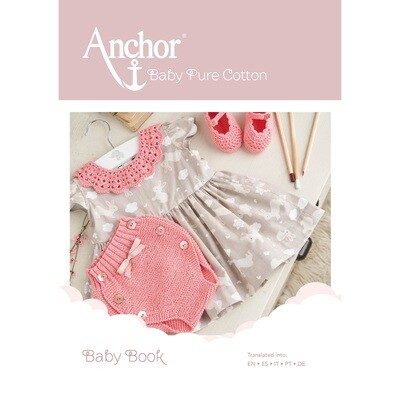 Baby Book featuring Anchor Baby Pure Cotton