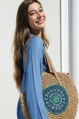 Acqua straw bag