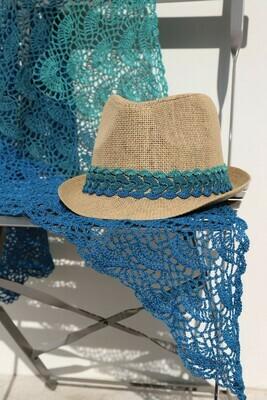 Acqua hat trim