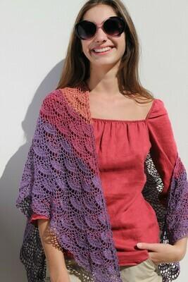 Twilight shawl