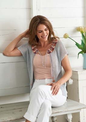 Gilet with Tassels