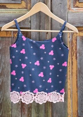 Pink Flowery Kids Top