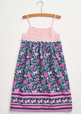 Kid Summer Dress in Pink