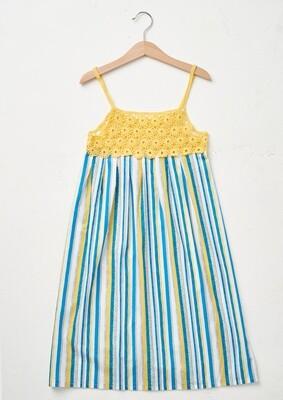 Kid Summer Dress in Yellow