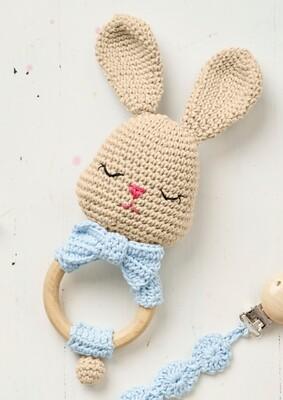 Bunny Amigurumi Ring