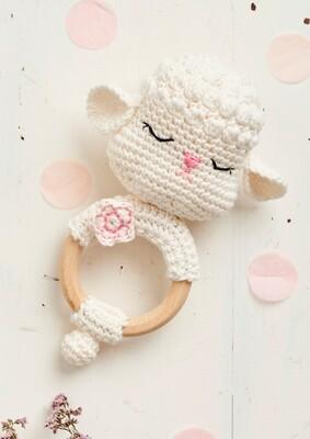 Sheep Amigurumi Ring