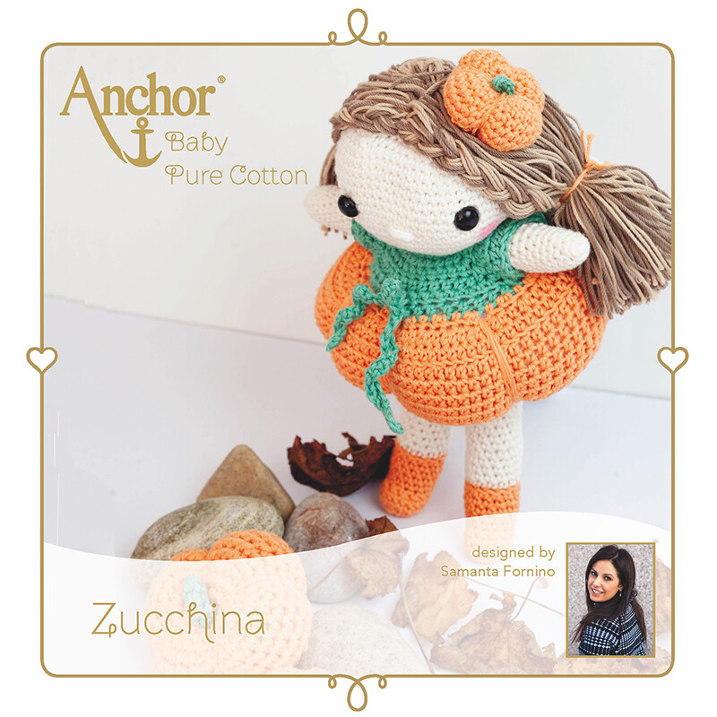 Anchor Baby Pure Cotton Amigurumi Kit - Zucchina Doll