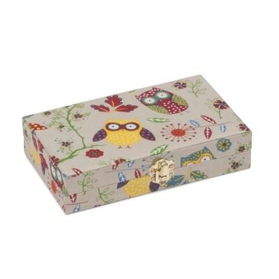 Bobbin Storage Box - Owl