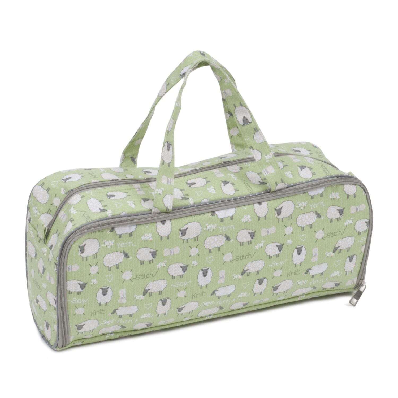 Knit Pin Bag with Storage Pocket - Sheep