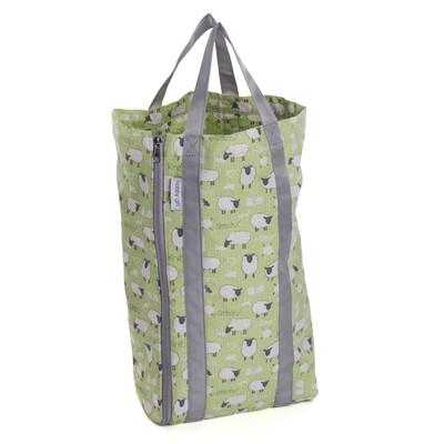 Knit Bag with Pin Storage - Sheep