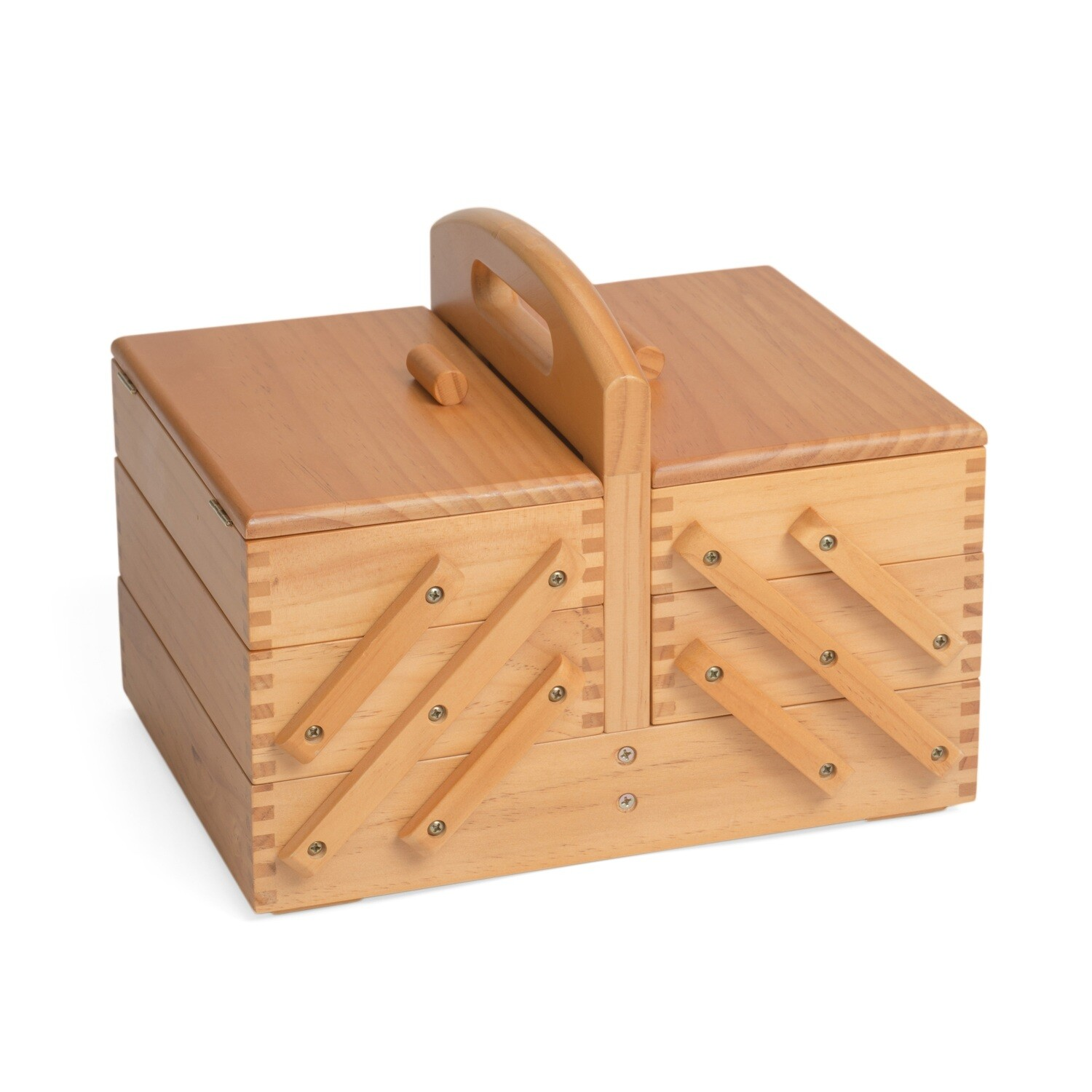 Sewing Box Wood - 3 Tier
