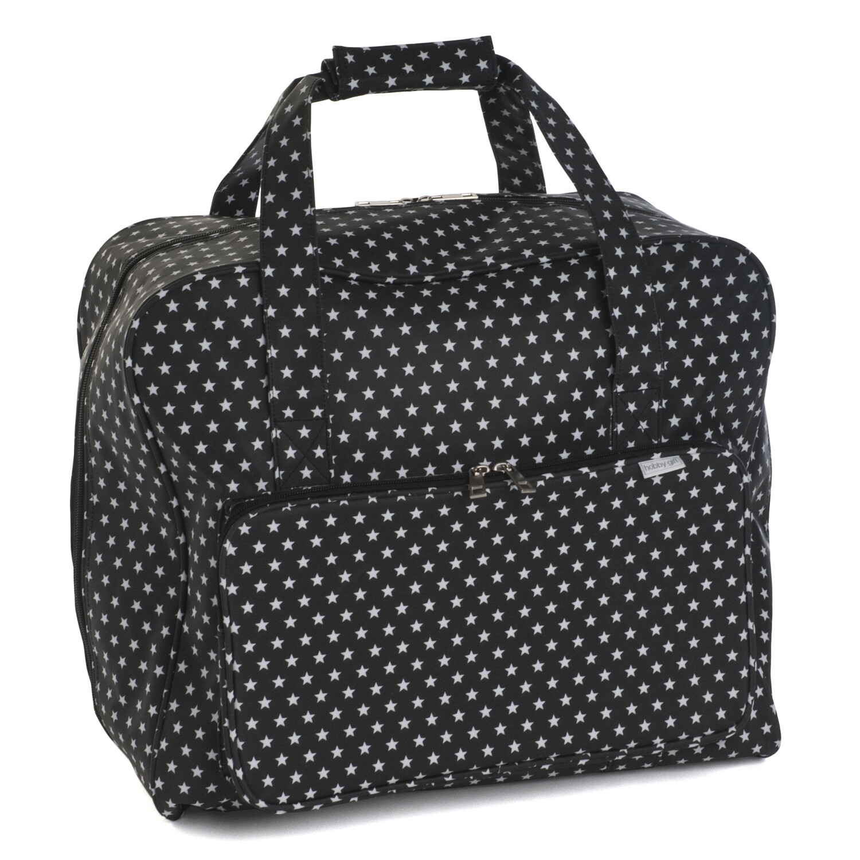 Sewing Machine Bag - Black Star