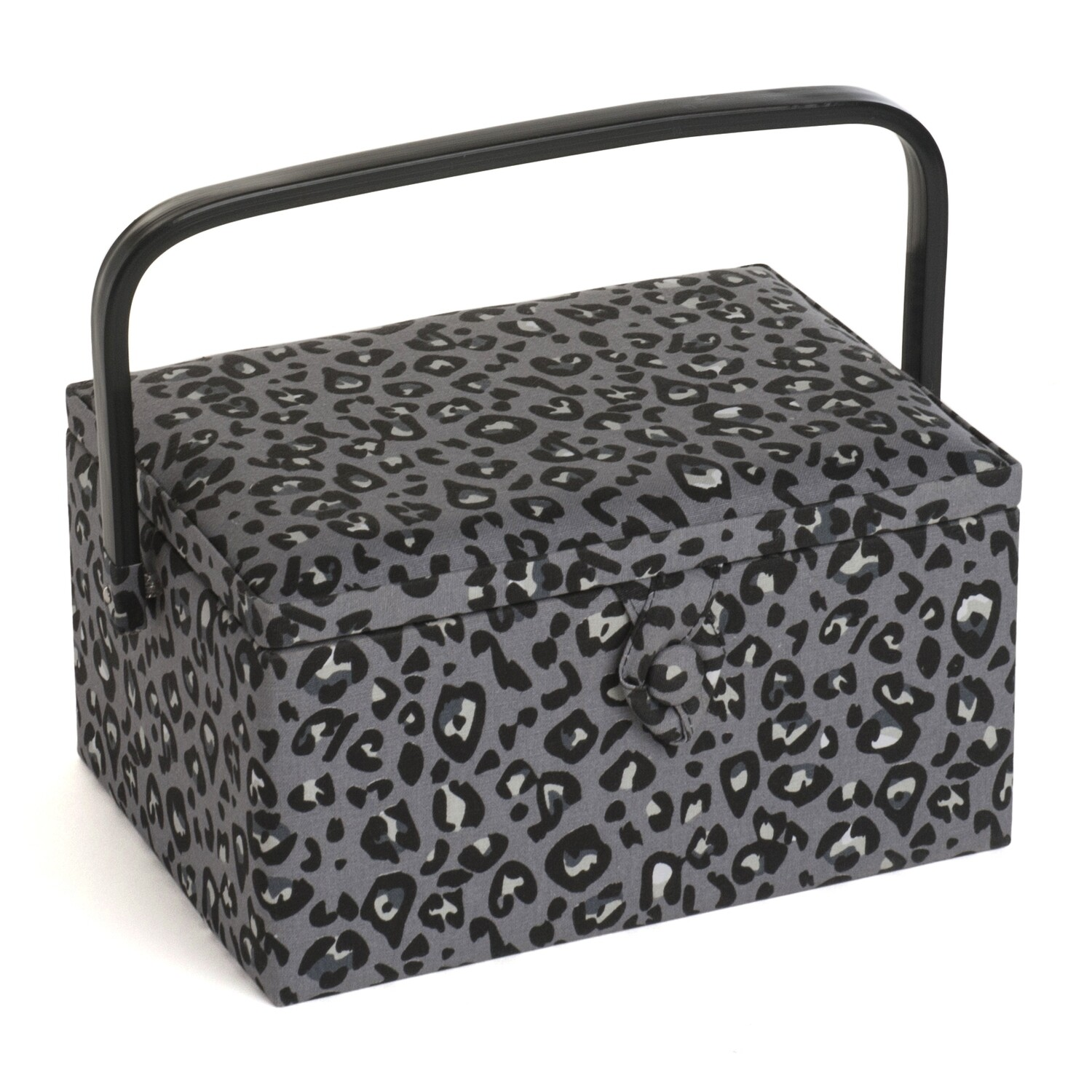 Sewing Box Medium - Leopard