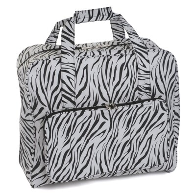 Sewing Machine Bag - Zebra