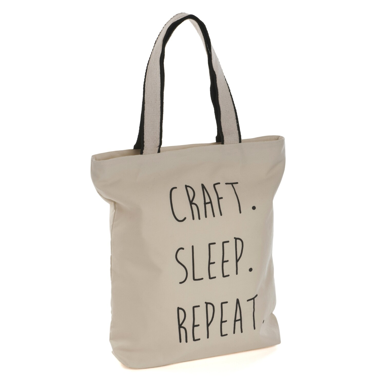 Tote Bag - Craft Sleep Repeat