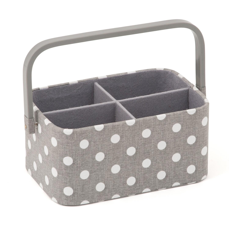 Craft Organiser - Grey Spot