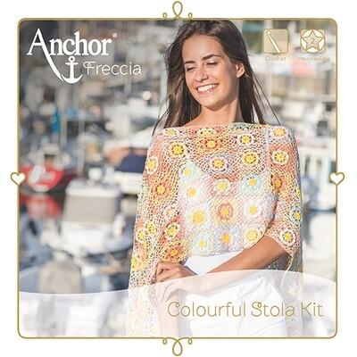 Anchor Crochet Kit - Multicolour Stola