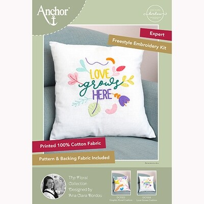 Anchor Essentials Freestyle Kit - Love Grows Cushion