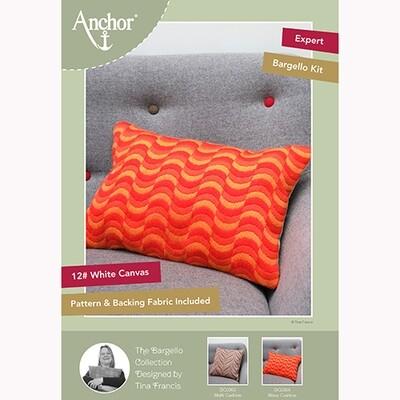 Anchor Essentials Long Stitch Kit - Wave Bargello Cushion