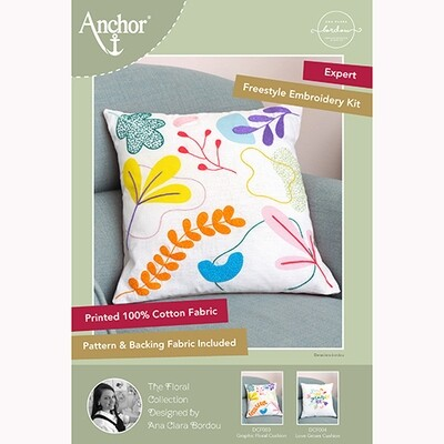 Anchor Essentials Freestyle Kit - Graphic Floral Cushion