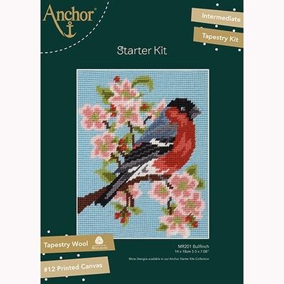 Anchor Starter Tapestry Kit - Bullfinch & Blossom