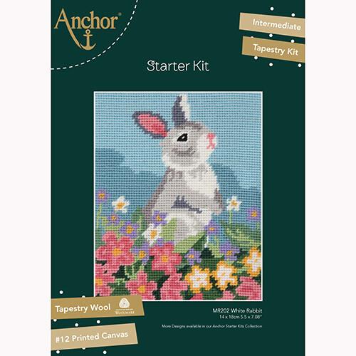 Anchor Starter Tapestry Kit - White Rabbit