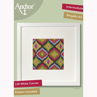 Anchor Starter Long Stitch Kit - Persimmon Bargello