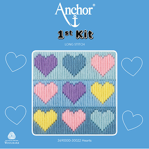 Anchor 1st Kit - Hearts