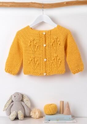 Lovely Yellow Cardigan