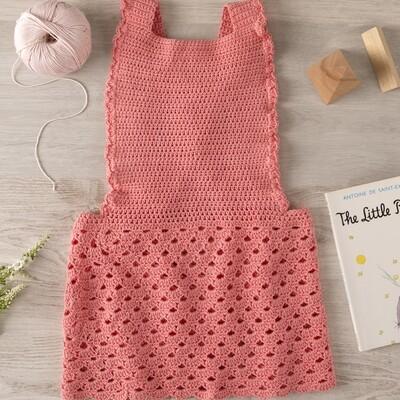 Sweet Frill Pink Dress
