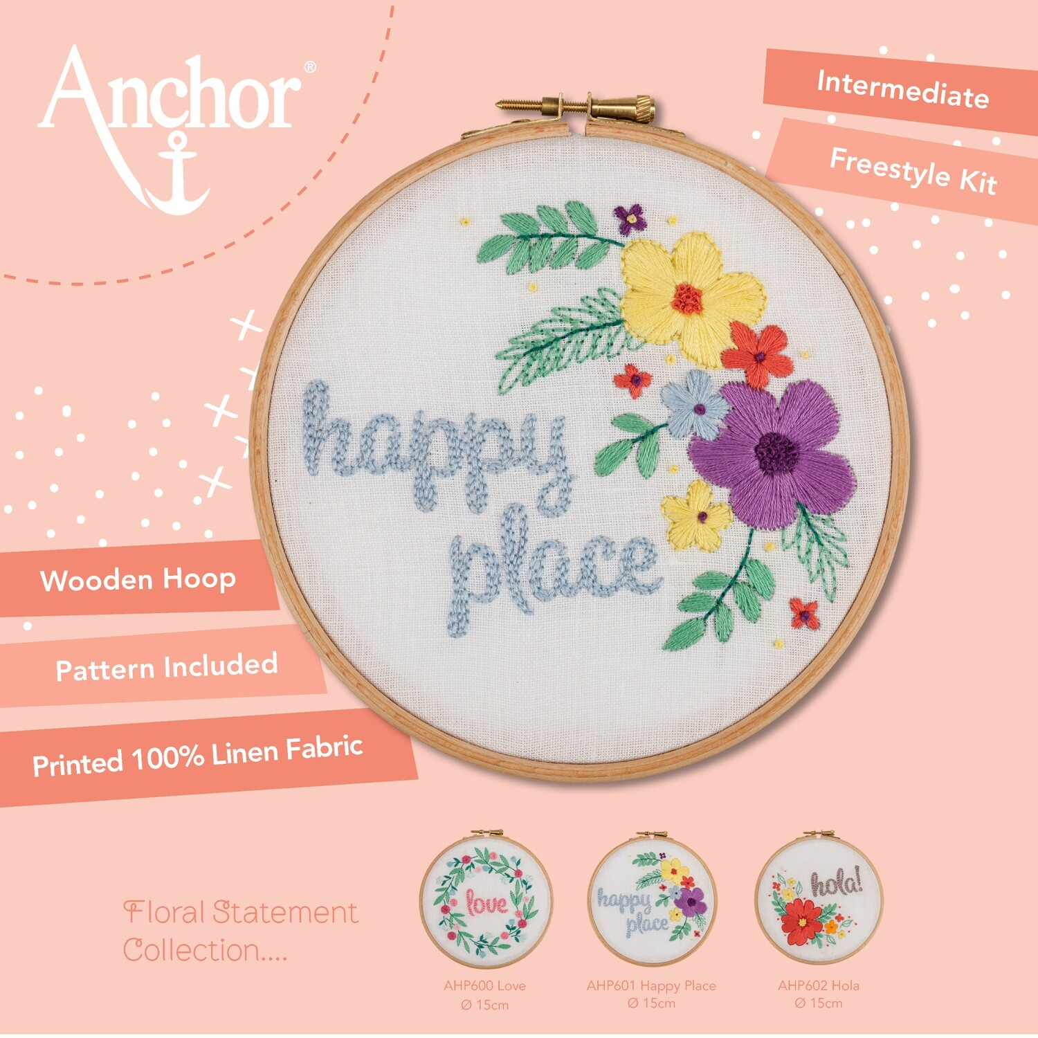 Anchor Starter Freestyle Kit - Happy Place Hoop