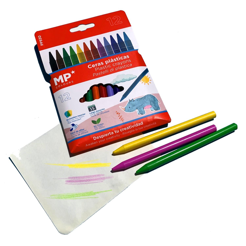 Conjunto de lápis de cera
