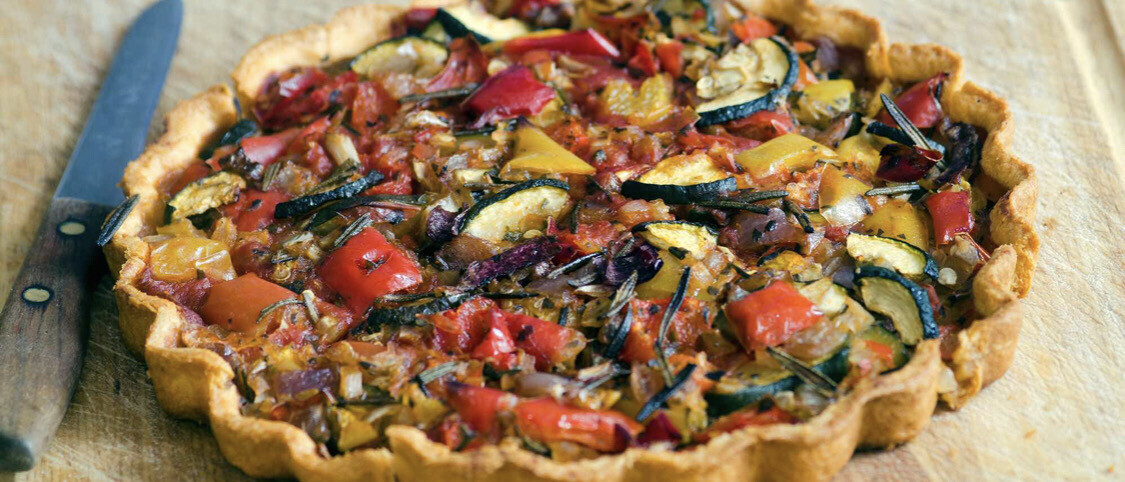 ROASTED VEG TART