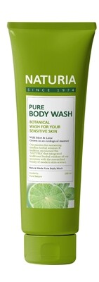 Гель для душа МЯТА/ЛАЙМ PURE BODY WASH (Wild Mint & Lime), 100 мл
