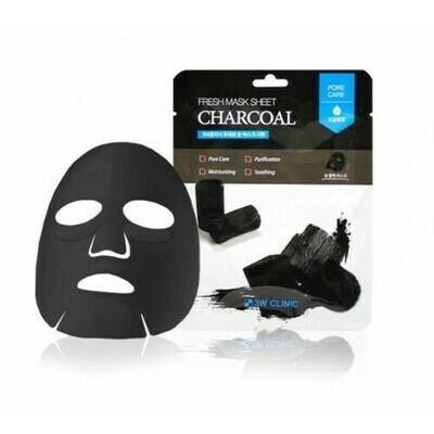 Тканевая маска для лица УГОЛЬ Fresh charcoal Mask Sheet
