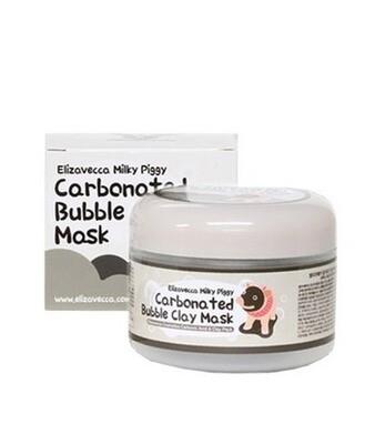 Маска для лица ОЧИЩАЮЩАЯ/ПУЗЫРЬКОВАЯ Сarbonate Bubble Clay Mask