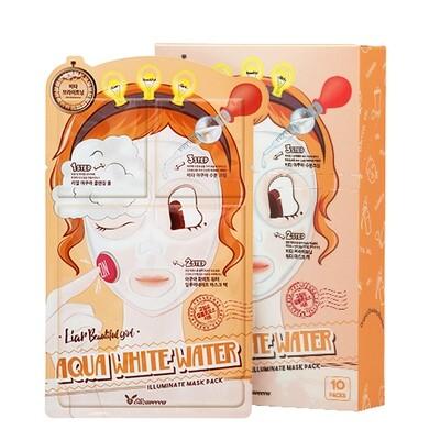 Маска трехэтап. УВЛАЖНЯЮЩАЯ 3-step Aqua White Water Illuminate Mask Sheet