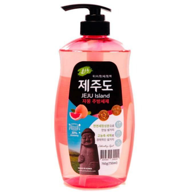 Средство для мытья посуды YUNSOL JEJU Island Grapefruit с ароматом грейпфрута, 750 мл