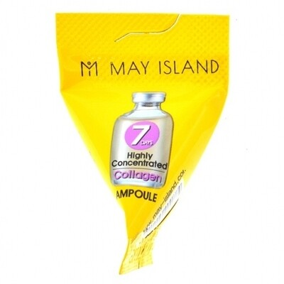Сыворотка с коллагеном May Island 7 Days Highly Concentrated Collagen Ampoule