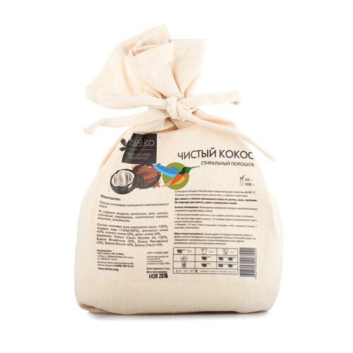 """Стиральный порошок """"Чистый кокос"""" Mi&Ko"""