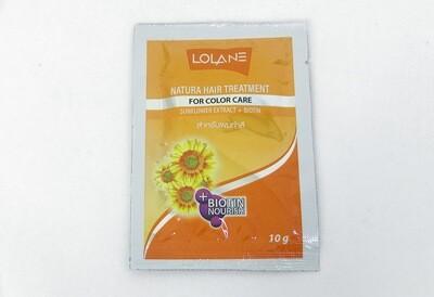 Маска для окрашенных волос с экстрактом подсолнечника LOLANE