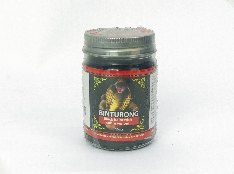 Binturong Black Balm with Cobra venom - Чёрный бальзам с ядом кобры