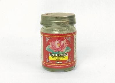 Binturong Relax Balm with Lotos - Успокаивающий бальзам с Лотосом