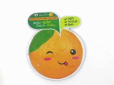 Обновляющая апельсиновая маска-скраб SMOOTO