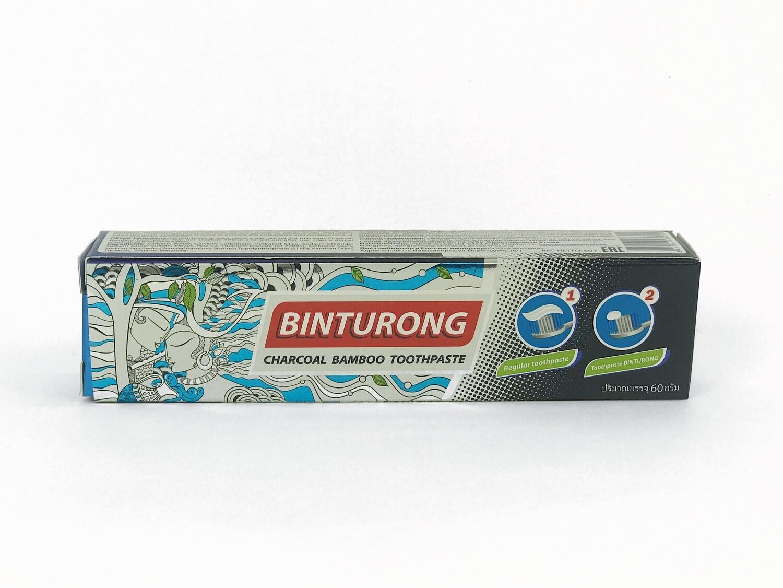 Binturong Charcoal Bamboo Toothpaste - угольная зубная паста