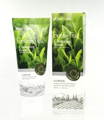 Пенка для умывания ЗЕЛЕНЫЙ ЧАЙ/НАТУРАЛЬНАЯ Green Tea Foam Cleansing, 100 мл