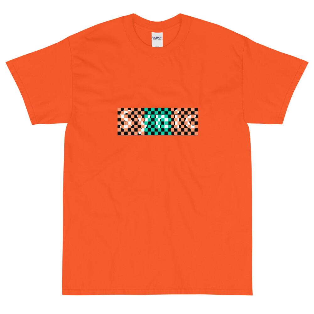 Synic Checkerboard Logo T-Shirt