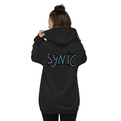 Synic Childhood Back Logo Zipped Hoodie